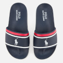 Polo Ralph Lauren Kids' Quilton Slide Sandals - Navy/White