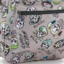 DC Comics Suicide Squad Skull Characters Backpack - Grey