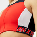 Tommy Hilfiger X GIGI Women's Speed Crop Top - Flame Scarlet/Midnight/Classic White/Black