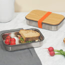 Black+Blum Stainless Steel Sandwich Box - Orange
