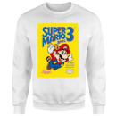 Sweat Homme Super Mario Bros 3 - Nintendo - Blanc