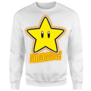 Nintendo Super Mario Invincible Sweatshirt - White
