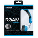 ROAM Journey On Ear Wireless Bluetooth Headphones - Blue