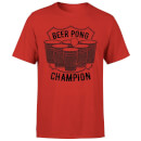 Beershield Beer Pong Champion T-Shirt - Red