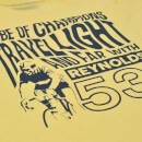 Reynolds Travel Light Printed T-Shirt - Yellow