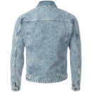 D-Struct Men's Denim Western Jacket - Acid Wash