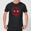 Marvel Deadpool Splat Face T-Shirt - Zwart