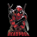 Marvel Deadpool Ready For Action T-Shirt - Black