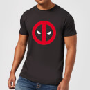 T-Shirt Homme Deadpool (Marvel) Logo Propre - Noir