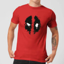 Camiseta Marvel Deadpool Splat Face - Hombre - Rojo