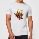 T-Shirt Homme Deadpool (Marvel) Outta The Way Nerd - Gris