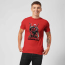 Marvel Deadpool Ready For Action T-Shirt - Red