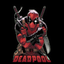 Marvel Deadpool Ready For Action Women's T-Shirt - Black