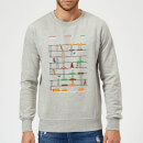 Marvel Deadpool Retro Game Sweatshirt - Grey