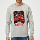 Sweat Homme Deadpool (Marvel) Bras Croisés - Gris