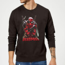 Sweat Homme Deadpool (Marvel) Ready For Action - Noir