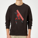 Sweat Homme Deadpool (Marvel) Hang Split - Noir