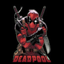 Sweat Femme Deadpool (Marvel) Ready For Action - Noir