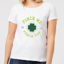 Beershield Pinch Me And Ill Punch You Women's T-Shirt - White
