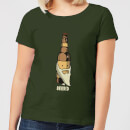 Beershield Beerd Women's T-Shirt - Forest Green