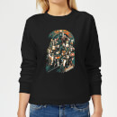 Marvel Avengers Infinity War Avengers Team Women's Sweatshirt - Black