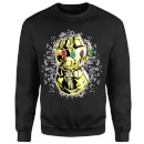 Sweat Homme Avengers Infinity War ( Marvel) Fist Comic - Noir