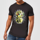 Marvel Avengers Infinity War Fist Comic T-Shirt - Black