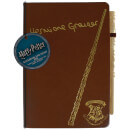 Harry Potter Hermione Notebook and Wand Pen