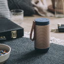 Kreafunk aFUNK 360 Degrees Bluetooth Speaker - Black/Rose Gold