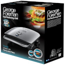 George Foreman 22160 1200W Grill and Melt Advance - Silver