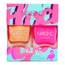 nails inc. Trend Duo Flock You Nail Polish Duo 2 x 14ml