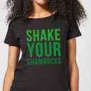 Shake Your Shamrocks Women's T-Shirt - Black