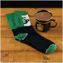 Harry Potter Slytherin Quidditch Tin Mug and Socks Set