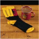 Harry Potter Gryffindor Quidditch Tin Mug and Socks Set