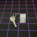 Nintendo Game Boy 3D Metal Keyring