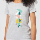 Disney Alice In Wonderland Mad Hatter Classic Women's T-Shirt - Grey