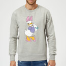 Disney Daisy Duck Classic Sweatshirt - Grey