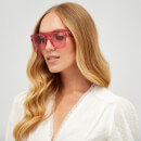 Stella McCartney Women's Square Frame Acetate Sunglasses - Pink