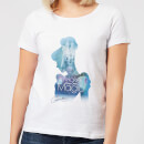 Disney Princess Filled Silhouette Cinderella Women's T-Shirt - White