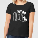 Disney 101 Dalmatians 101 Doggies Women's T-Shirt - Black