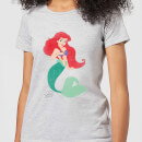 Disney Princess The Little Mermaid Ariel Classic Women's T-Shirt - Grey
