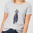 Disney Sleeping Beauty Maleficent Classic Women's T-Shirt - Grey