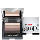 PUPA Vamp 4-Eyeshadow Palette - Smoky Brown 4g