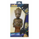 "Marvel Guardians Of The Galaxy Collectable Groot 8"" Cable Guy Controller & Smartphone Stand"