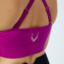 Lucas Hugh Women's Technical Knitted Adjustable Sports Bra - Violet
