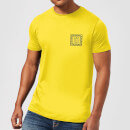 T-Shirt Homme LAX Free Surf Native Shore - Jaune
