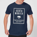 Native Shore Men's Santa Monica Surf City T-Shirt - Navy