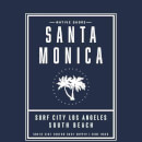 T-Shirt Homme Santa Monica Surf City Native Shore - Bleu Marine