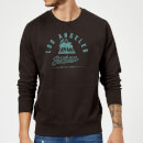 Sweat Homme Los Angeles Surfwear Native Shore - Noir