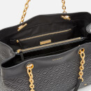 Tory Burch Women's Fleming Triple Compartment Tote Bag - Black